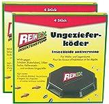 REINEX 8er Pack (2x4) Ungezieferdose Köderdose...