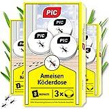 PIC - Ameisenköder Dose - 3x3 = 9 Dosen – Ameisenköder...