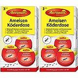 Aeroxon - Ameisenfalle, Ameisenköderdose - 2x3 Dosen -...